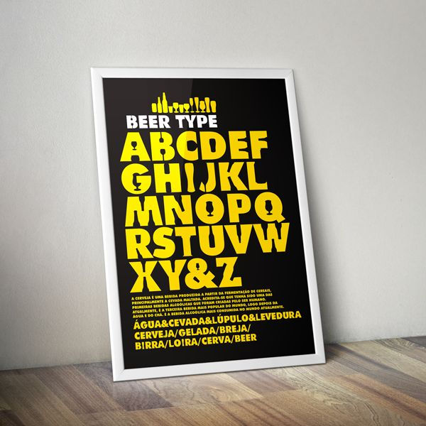 Beer Glass Typefaces