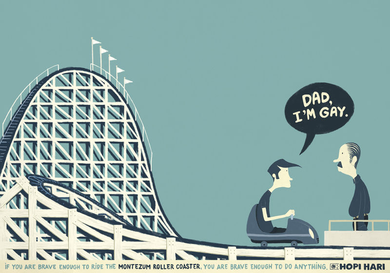 Roller Coaster Bravery Acts