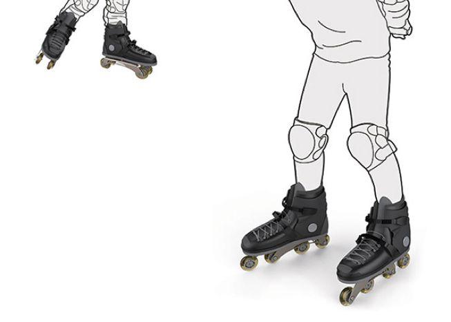Convertible Roller Skates