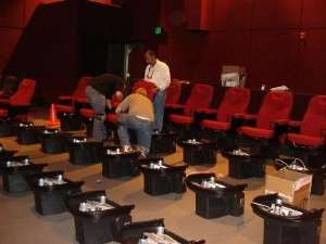 Motion-Activated Movie Seats