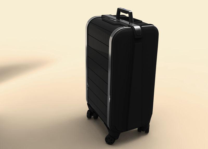 Zipper-Free Suitcases