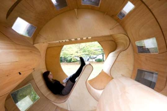 Cylindrical Rolling Homes