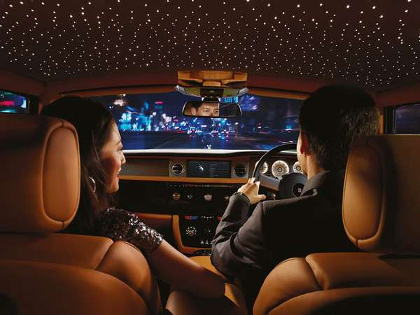 rolls royce starlight headliner