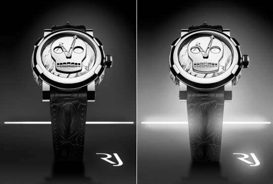 Luxurious Skull Timepieces