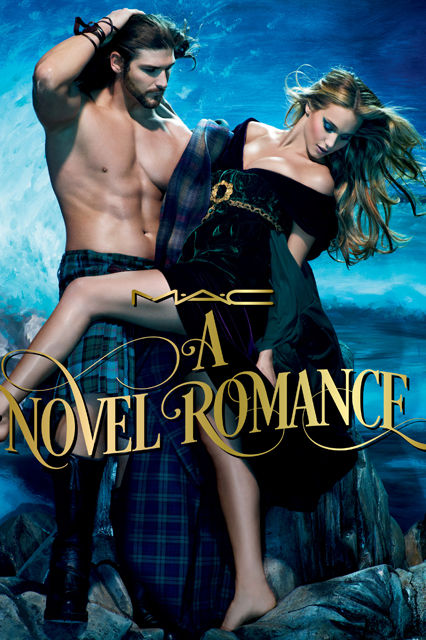 Romance Novel Makeup Ads