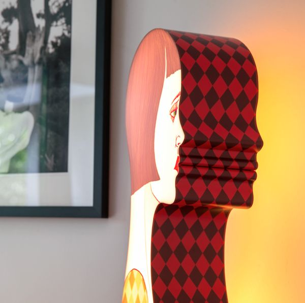Retro Feminine Figure Lamps