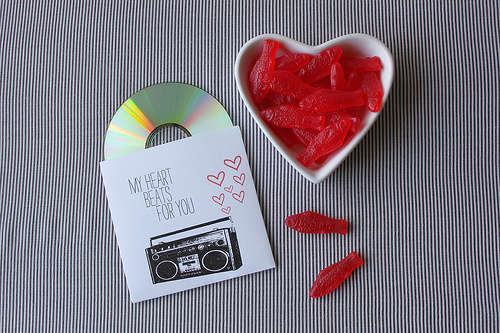 romantic mix CD 