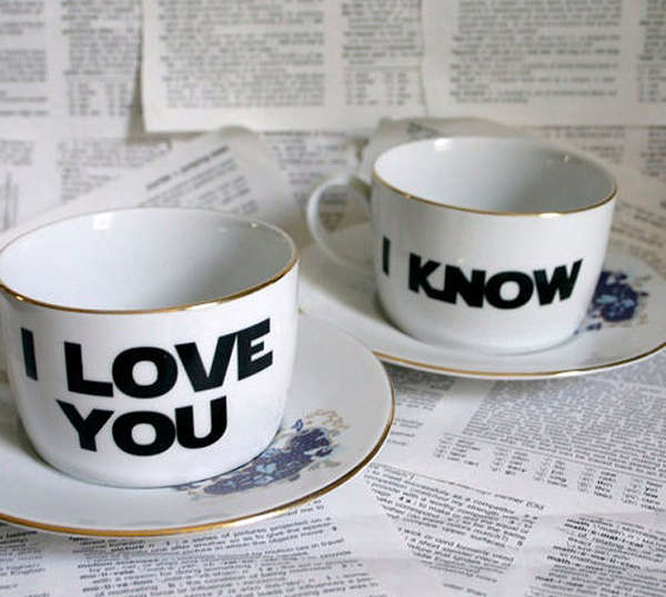 Romantic Tea Cups