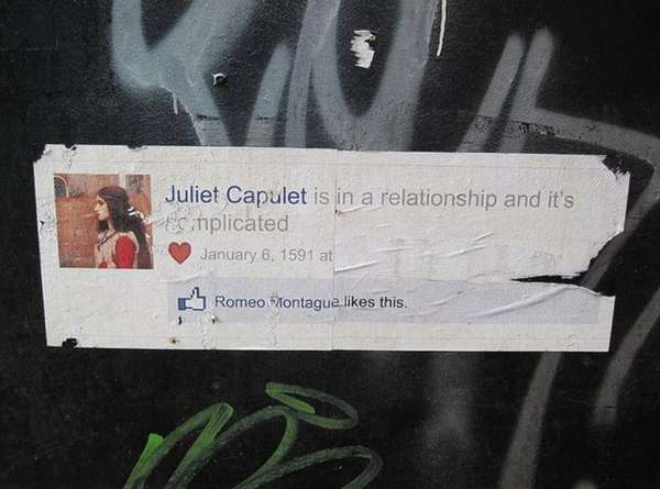romeo and juliet facebook relationship status