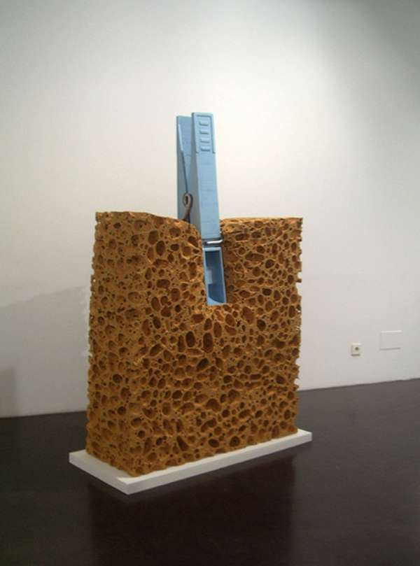 Gigantic Sponge Sculptures