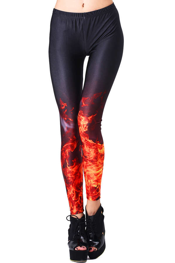 Flame-Licked Leggings
