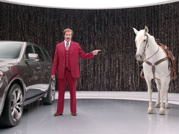 Hilarious Anchorman Auto Ads
