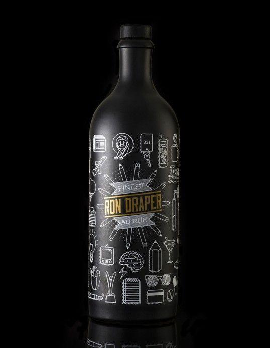 Pop Culture Rum Branding