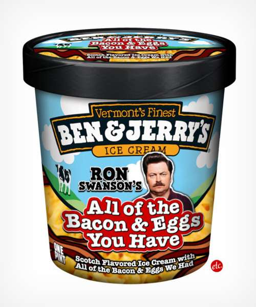 Ron Swanson's All the Bacon and Eggs You Have