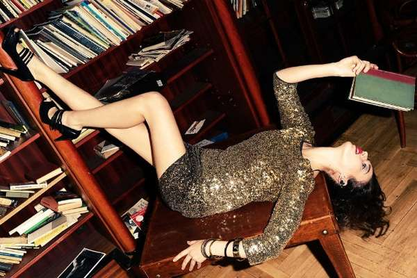 Glamorously Bookish Beauties