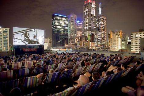 Roof Top Cinema Films With A View