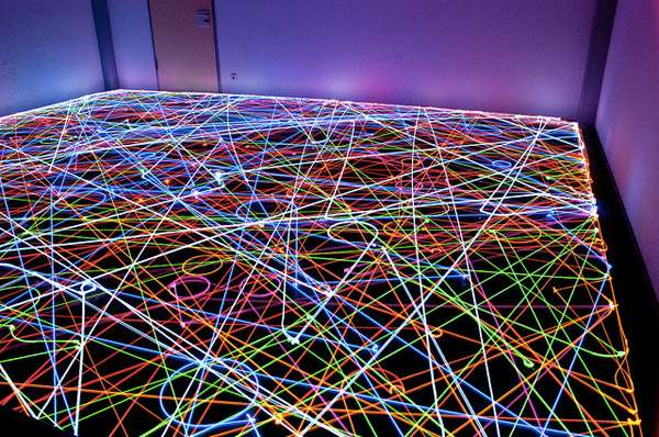 Roomba Light Paintings