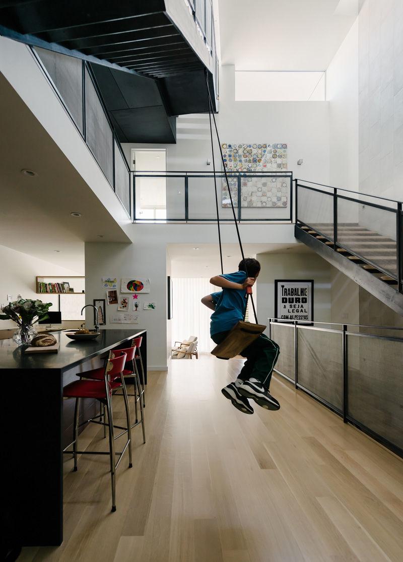 Playful Atrium Homes