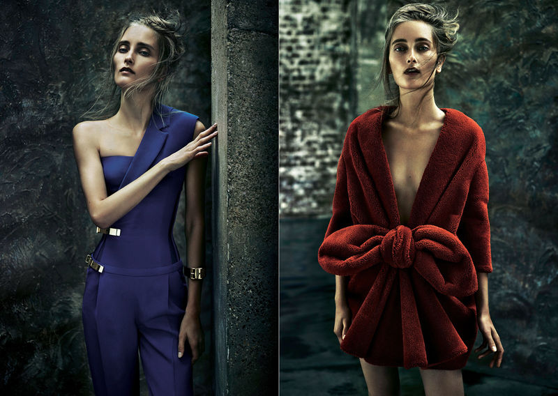 Eclectic Formalwear Editorials