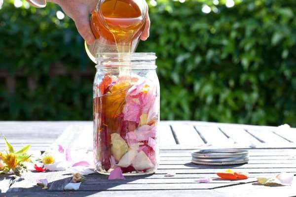 DIY Flower-Infused Honey