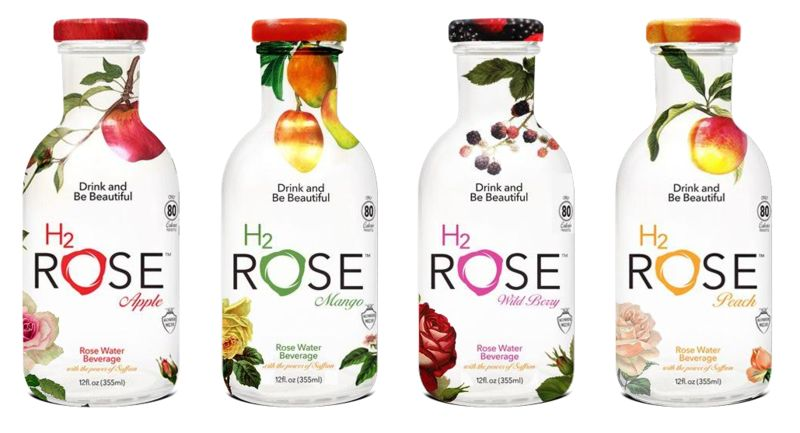 Fruit-Flavored Rose Water