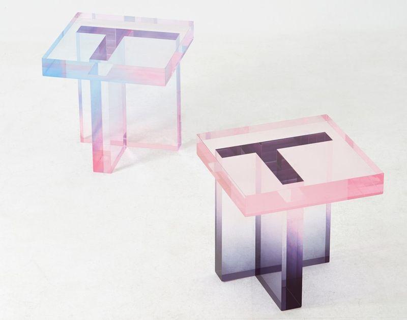 Transparent Side Tables