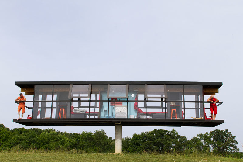 Elevated Rotating Homes