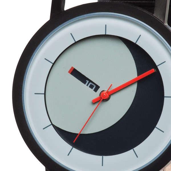 Moon-Mimicking Rotational Watches