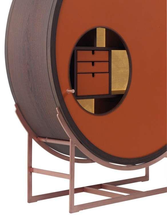 Contemporary Circular Cabinets