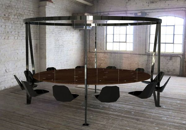 Suspended Swing Tables Round Table
