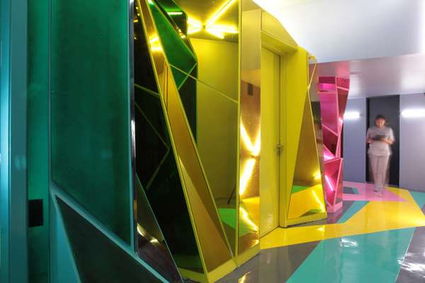 Luminous Geometric Salons