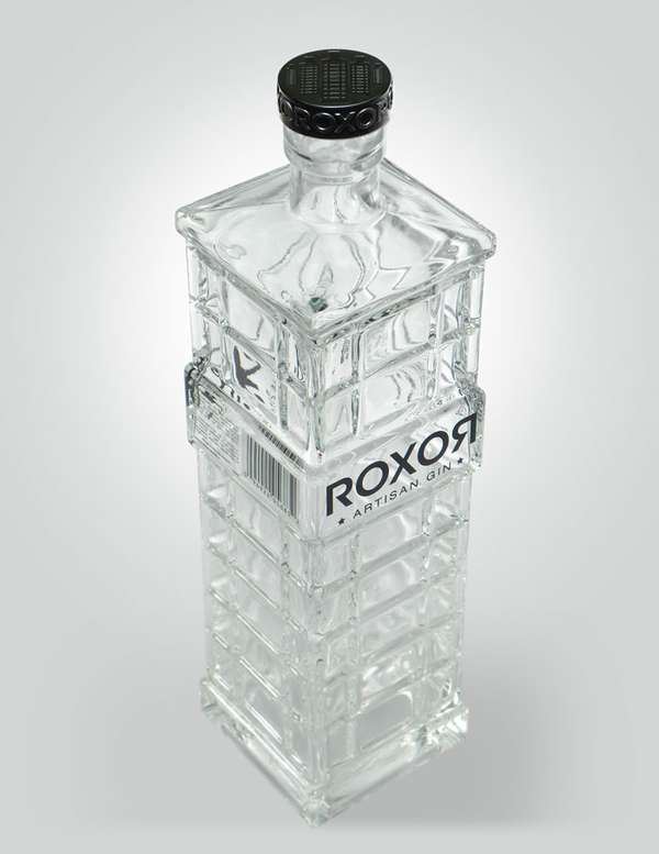 Skyscraper-Inspired Bottles