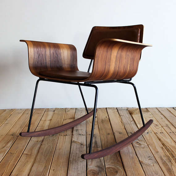 Modernized Retro Rocking Seats