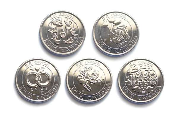 Cute Cartoonish Coins