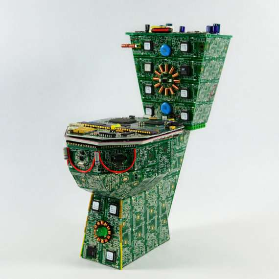 Circuit Board Toilets