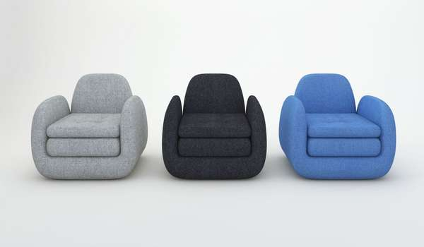 Double Cushioned Seating