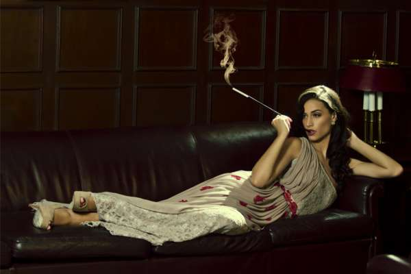 Opulent Old-Hollywood Editorials