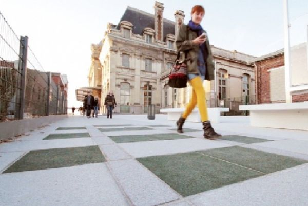Sustainable Rubber Sidewalks