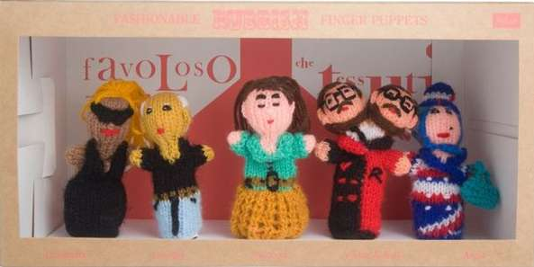 Fashionable Finger Puppets