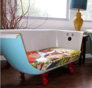 Transformed Tub Couches
