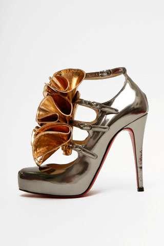 Ruffly High Heels
