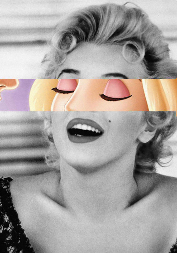 Cartoonized Eye-Popping Iconic Images