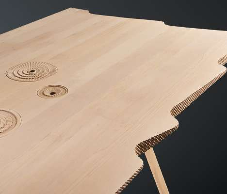 Storage Timber Tables
