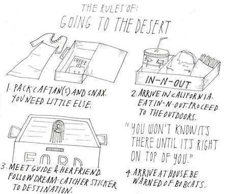 Rules of Going to the Desert
