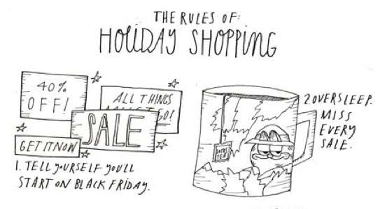 Rules of Holiday Shopping