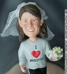 Runaway Bride Dolls