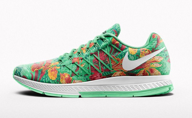 Customizable Floral Sneakers