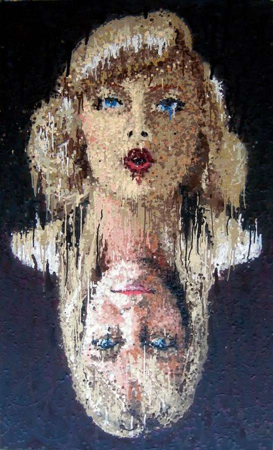 Runny Pointillism Alex Young S Alter Ego Paintings