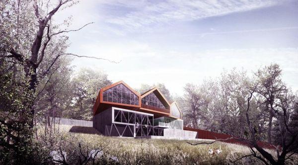 Geometrically Modern Residences