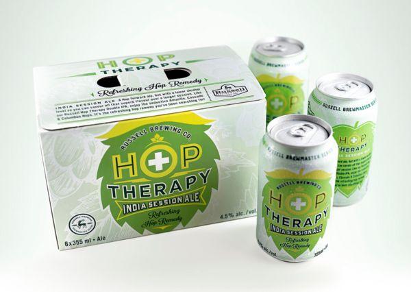 Therapeutic Beer Branding